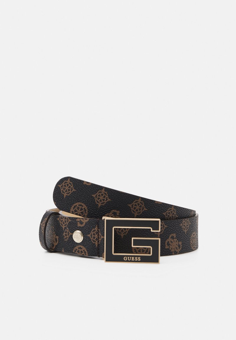 Guess - BRIGHTSIDE ADJUSTBLE PANT BELT - Belte - brown
