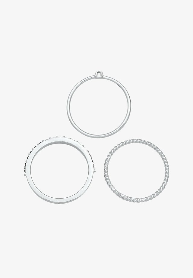 3-PACK - Anello - silber