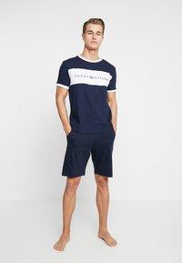 Tommy Hilfiger - SHORT - Pantaloni del pigiama - blue - 1