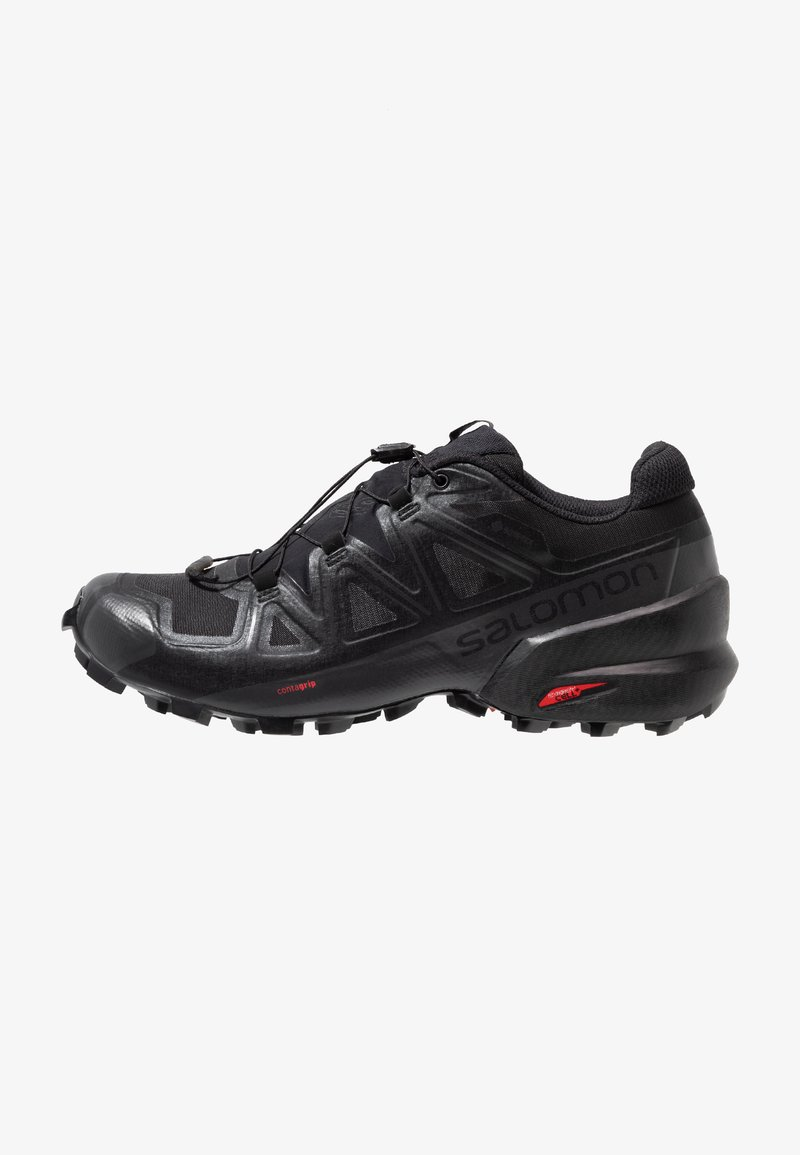 Salomon - SPEEDCROSS 5 GTX - Löparskor terräng - black/phantom