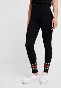 Desigual - PANT AMANDA - Leggings - black - 0