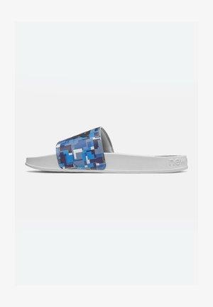 Pool slides - captain blue