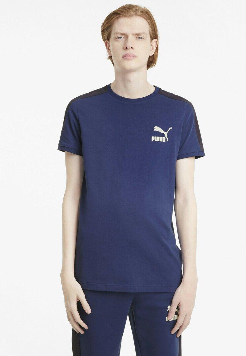 Puma - ICONIC  - Print T-shirt - elektro blue