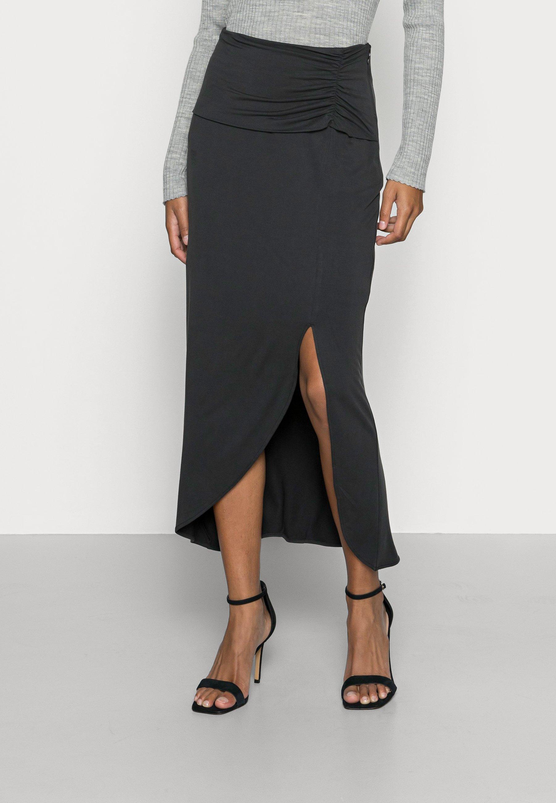 Women CONCETTA SKIRT - Pencil skirt - jet black