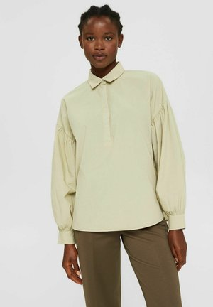 EARTHCOLORS - Button-down blouse - dusty green