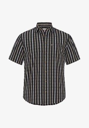 HINNE - Shirt - black sand