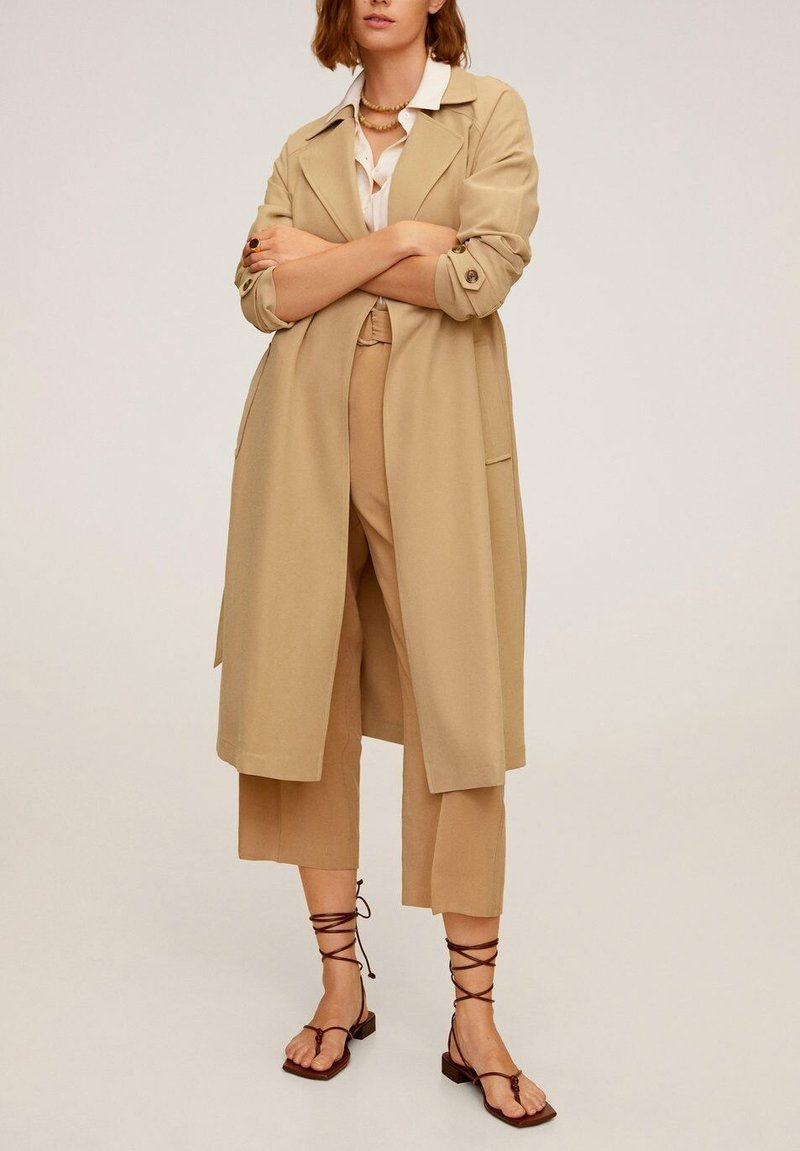 Mango - TAXI - Trench - beige