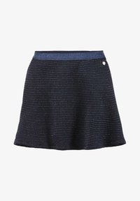 TOM TAILOR - MIT GLITZER-STREIFEN - A-line skirt - original|multicolored - 0