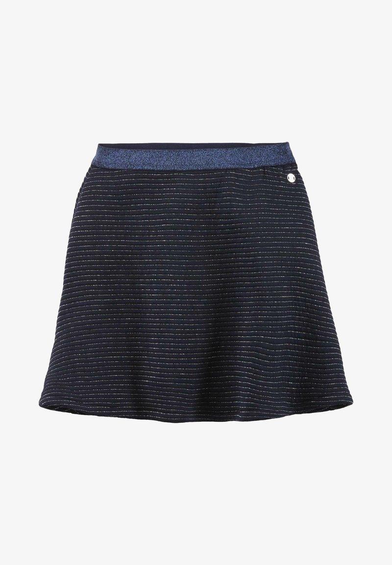 TOM TAILOR - MIT GLITZER-STREIFEN - A-line skirt - original|multicolored
