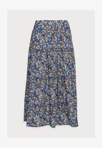 ELSIE PLEATSKIRT - A-line skirt - azure blue