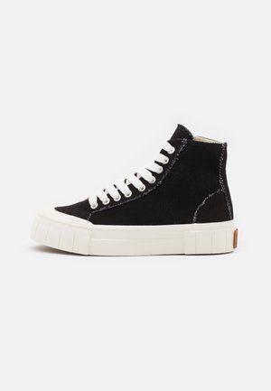 PALM UNISEX - High-top trainers - black/oatmeal/khaki