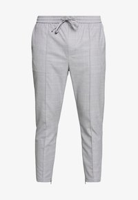 Kings Will Dream - BOLO SMART JOGGERS  - Tygbyxor - grey