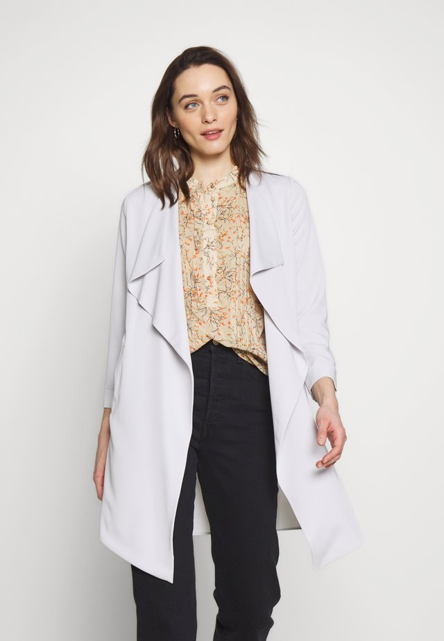 WATERFALL DUSTER - Classic coat - silver