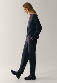 Massimo Dutti - Tracksuit bottoms - dark grey - 4