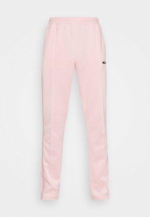 STRIPE TRACK PANT UNISEX - Tracksuit bottoms - pink