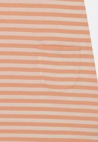 Marimekko - LUOSTOKKA TASARAITA - Jersey dress - off white/light apricot - 2