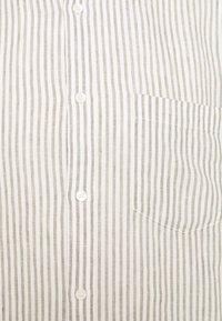 ARKET - Linen Shirt - Shirt - green/white - 2