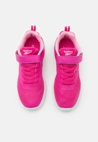 Reebok - RUSH RUNNER 3.0 UNISEX - Neutral running shoes - pink/light pink/white - 3