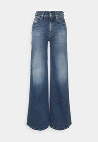 Diesel - D-AKEMI - Relaxed fit jeans - medium blue - 0