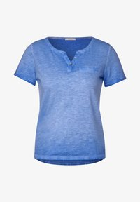 Cecil - Basic T-shirt - blau - 3