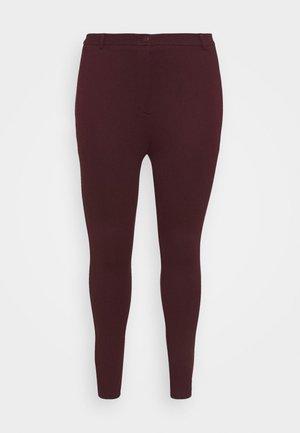 SUSTAINABLE TREGGING PONTE TROUSER - Leggings - purple