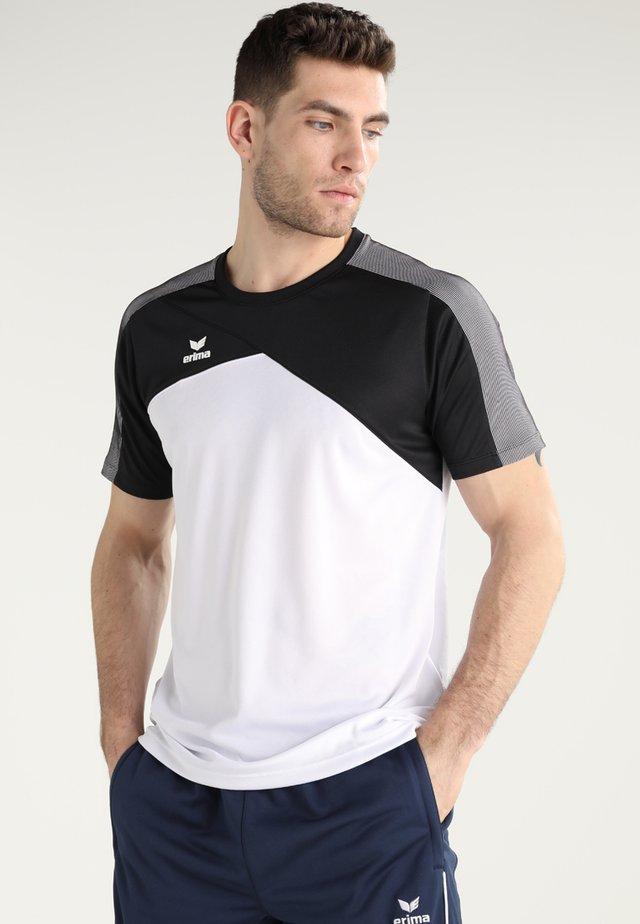 PREMIUM ONE FUNCTION - Print T-shirt - white/black/white