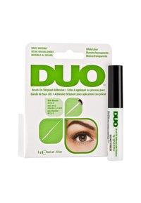 DUO - DUO BRUSH ON ADHESIVE WITH VITAMINS - False eyelashes - clear - 1