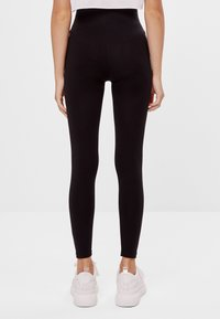 Bershka - Legging - black - 2