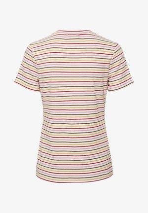 Print T-shirt - high risk red/multi