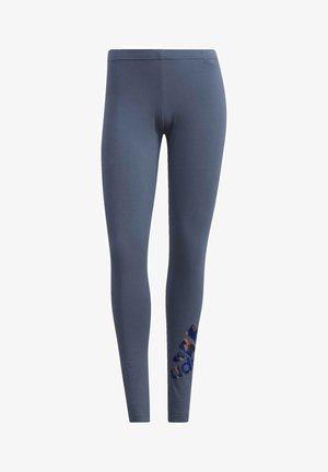 ADIDAS U4U COTTON LEGGINGS - Tights - blue