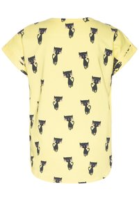 Fred's World by GREEN COTTON - CATS - T-shirt print - yellow - 1