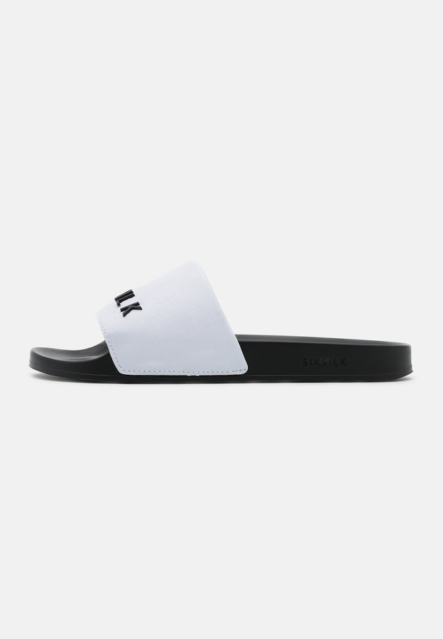 ROMA SLIDES - Pantofle - white