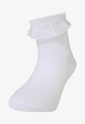 ROMANTIC - Socks - white