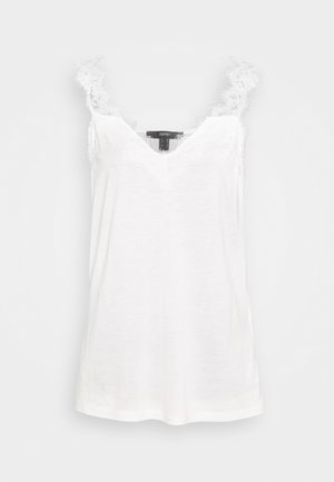 FLOW VNECK - Top - off white
