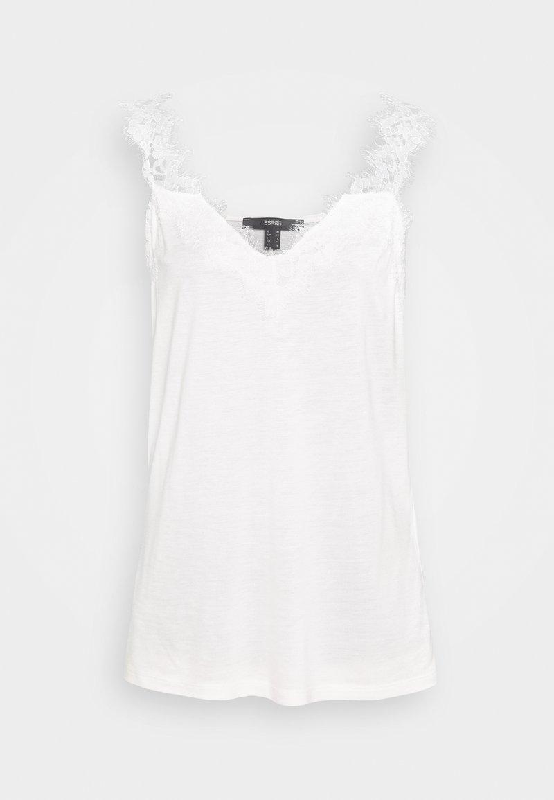 Esprit Collection - FLOW VNECK - Top - off white