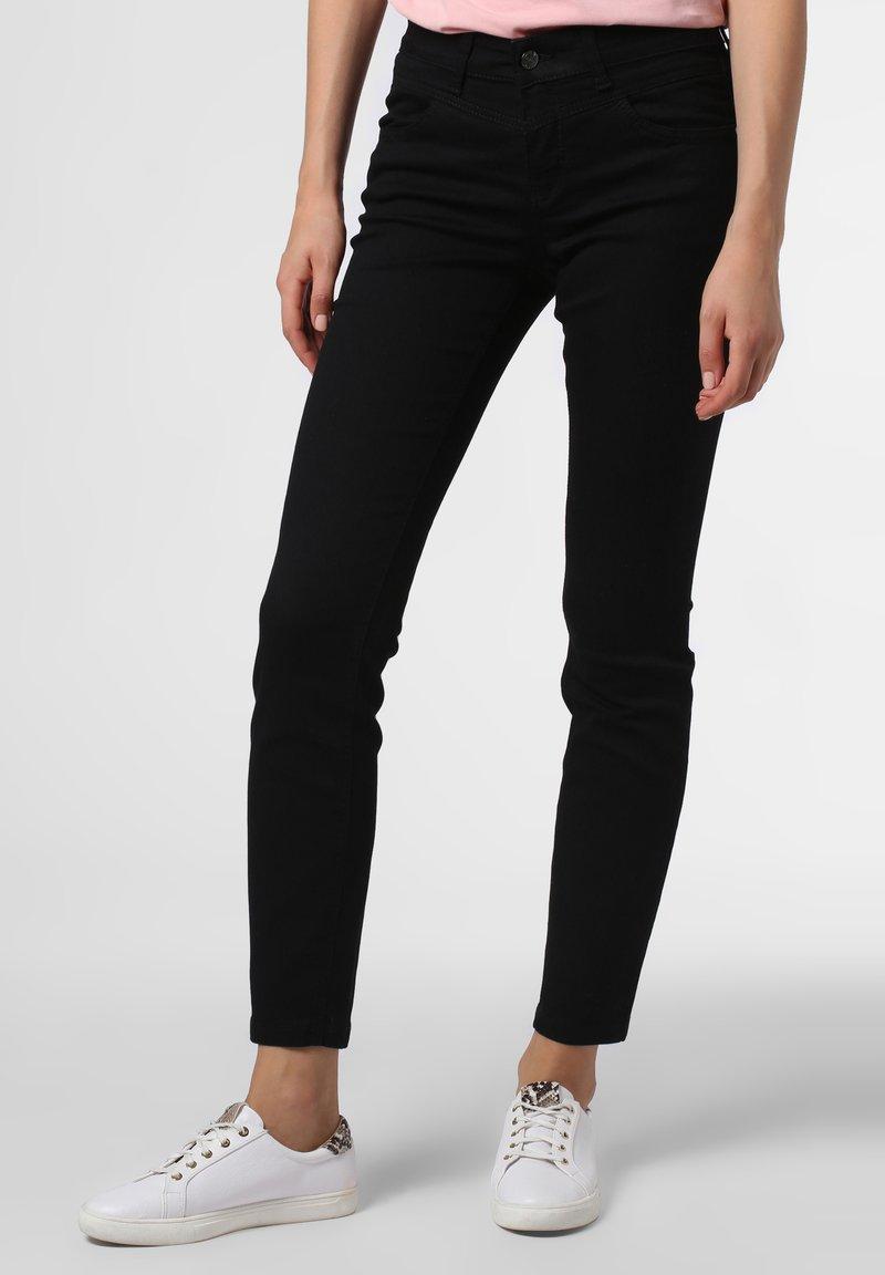 MAC - Slim fit jeans - schwarz