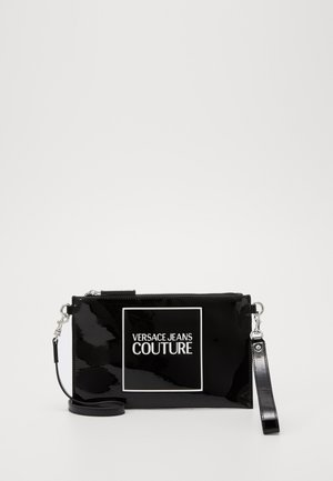 POUCHES HOSTESS BAGPATENT BASIC - Clutch - nero