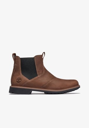 Classic ankle boots - cocoa brown
