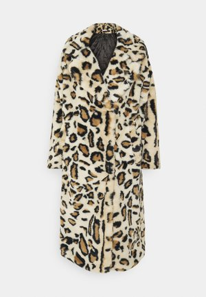 FAUX FUR COAT - Mantel - brown