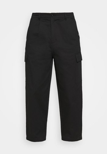 BAGGY CARPENTER TROUSERS - Pantaloni - black