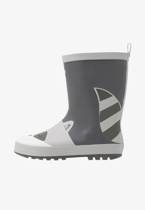RIVER - Botas de agua - black/grey