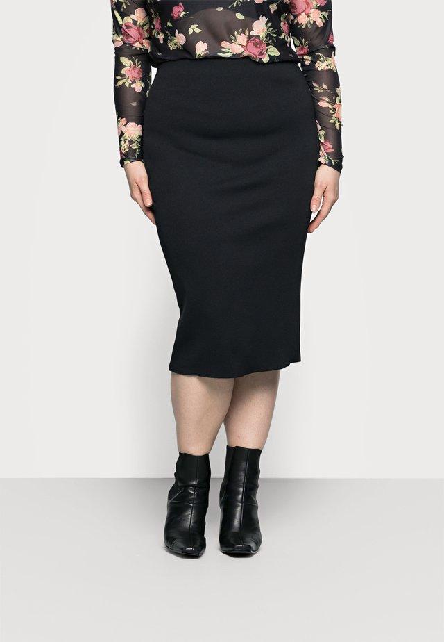 COMPACT SKIRT - Pencil skirt - black