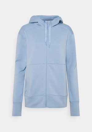 COLD.RDY GO TO HOODIE - Zip-up hoodie - ambient sky