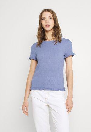 VIHAGEN O NECK - T-shirts - colony blue