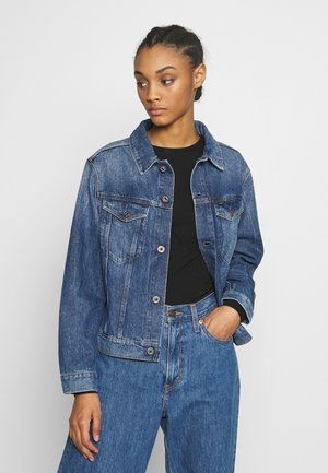 3301 STRAIGHT - Jeansjacke - faded shore