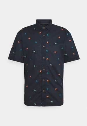 HAWAII FIT ALL OVER PRINTED SHORTSLEEVE - Košile - dark blue
