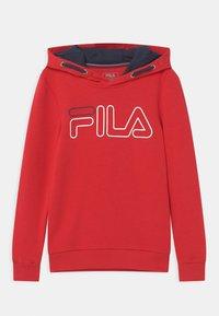 Fila - WILIAM UNISEX - Jersey con capucha - fila red - 0