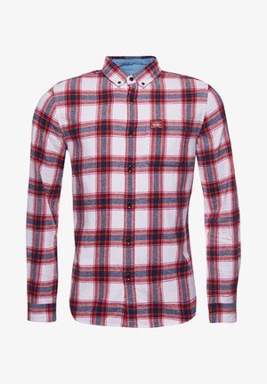 HERITAGE LUMBER - Shirt - mottled red