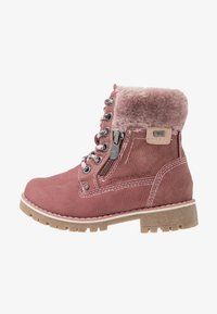 TOM TAILOR - Lace-up ankle boots - rose - 1