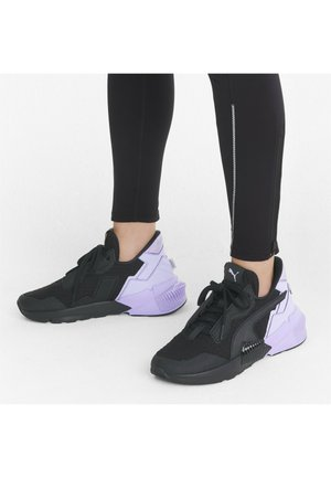 Sneakers basse - puma black/light lavender